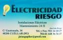 Electricidad Riesgo