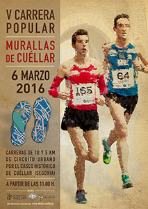 cartel carrera murallas 2016